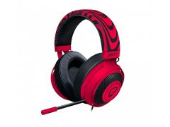 Razer PewDiePie Kraken Pro V2– Analog Neon Red Gaming Headset