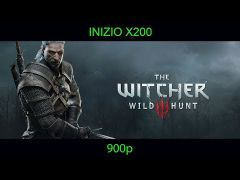 The Witcher 3: Wild Hunt Played on Inizio X200