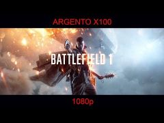 Battlefield 1 Played on Argento X100