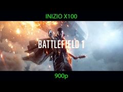 Battlefield 1 Played on Inizio X100