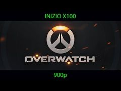 Overwatch Played on Inizio X100