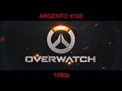 Overwatch Played on Argento X100