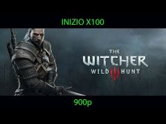 The Witcher 3: Wild Hunt Played on Inizio X100