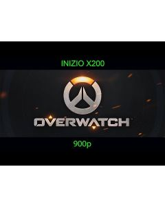 Overwatch Played on Inizio X200