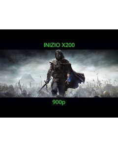Middle-earth Shadow of Mordor played on Inizio X200